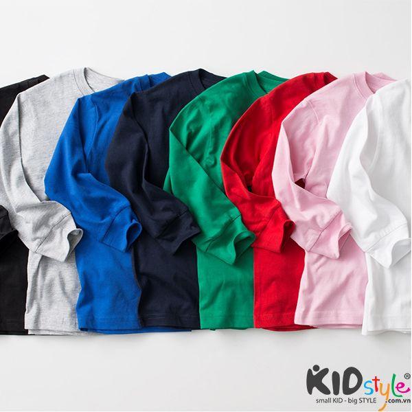 áo thun tay dài trẻ em