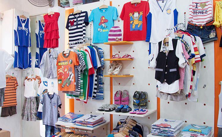 mở shop quần áo trẻ em