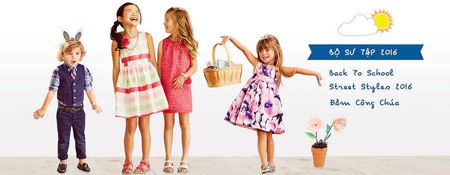 bộ sưu tập váy đầm bé gái