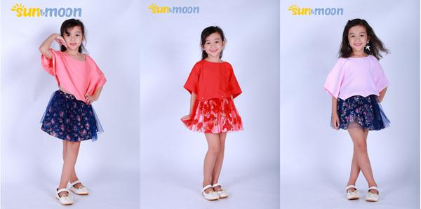 Ninh Khương ra mắt thương hiệu quần áo trẻ em cao cấp Sun & Moon