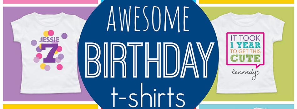 áo thun sinh nhật bé kidstyle