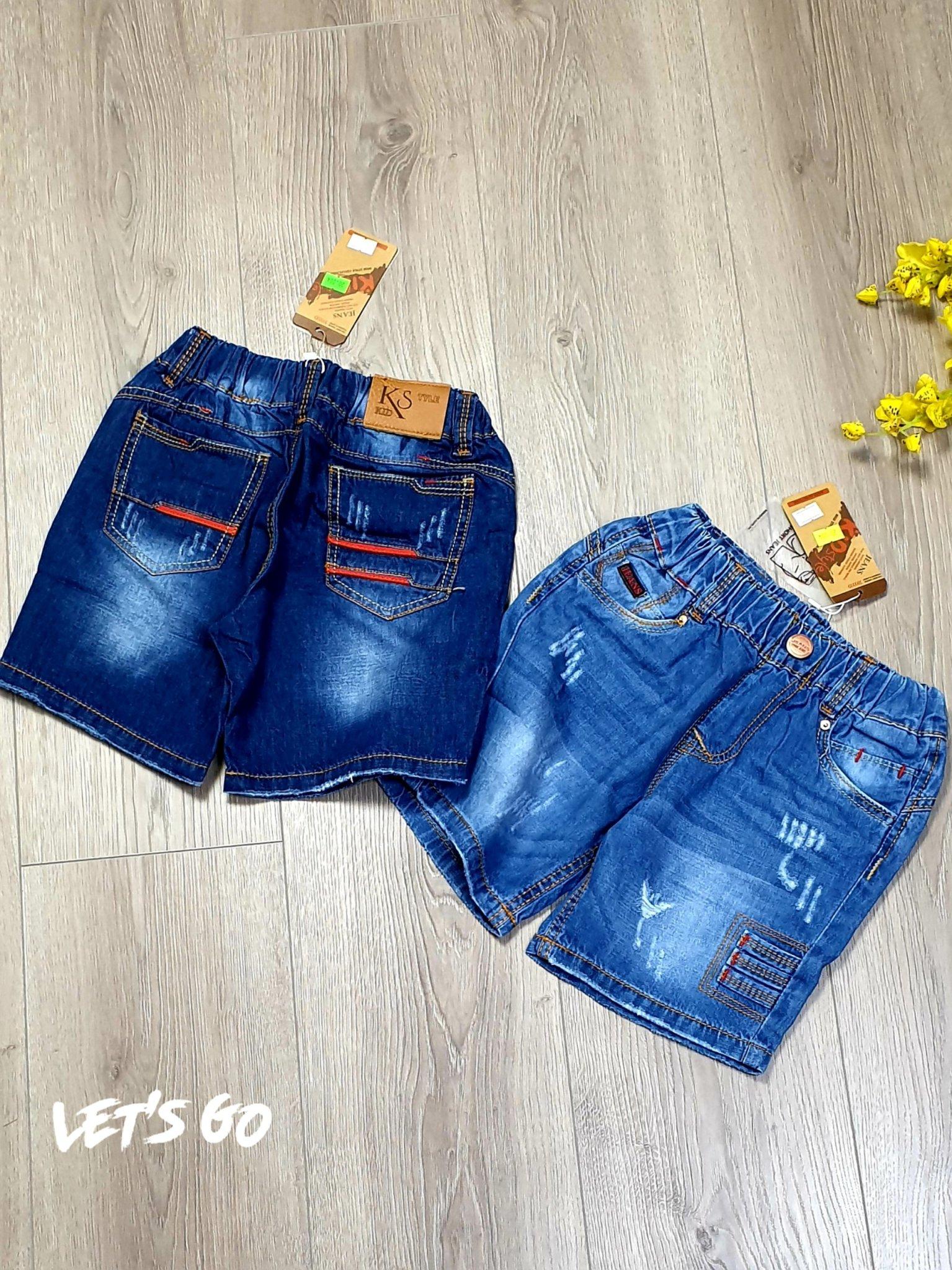 QT100401 - Short jean đùi KIDSTYLE