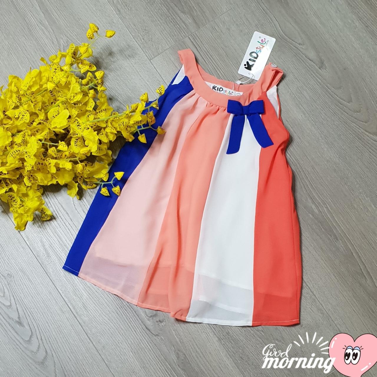 váy đầm bé gái mặc nhà