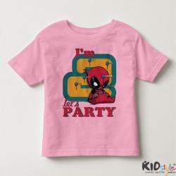 Áo thun trẻ em in Spiderman 2 tuổi đen