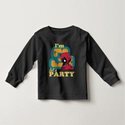 Áo thun tay dài in Spiderman 2 tuổi đen