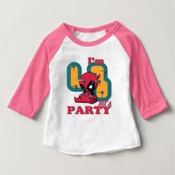 Áo thun trẻ em ráp lăng tay 3/4 in Spiderman 4 tuổi  (4 màu)
