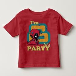 Áo thun trẻ em in Spiderman 6 tuổi (4 màu)