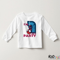 Áo thun tay dài in Spiderman 2 tuổi ngược (4 màu)