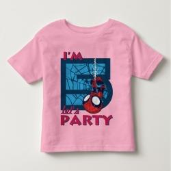 Áo thun trẻ em in Spiderman 1 tuổi ngược đen