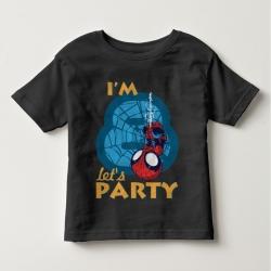 Áo thun trẻ em in Spiderman 8 tuổi ngược (4 màu)