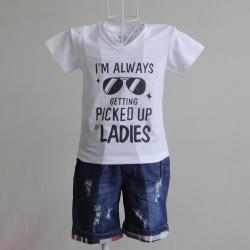 kidset áo thun quần jean