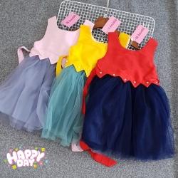 DG119129 Đầm công chúa kate phối chân ren 1-8