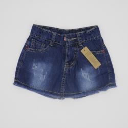 VJ68002 - Váy Jean ngắn bé gái