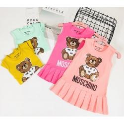 DG220302 - Đầm Gấu kim sa Moschino