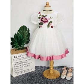 DG190905-Đầm công chúa đính hoa