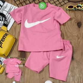 Bộ thun hottrend Nike quần ngố-BG2260501