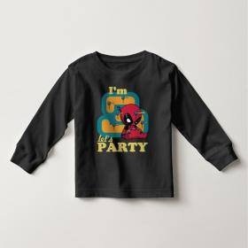 Áo thun tay dài in Spiderman 3 tuổi (4 màu)
