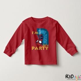 Áo thun tay dài in Spiderman 1 tuổi ngược (4 màu)