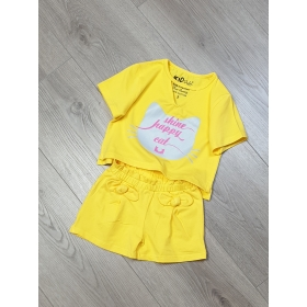 BG180501 - Bộ short bé gái