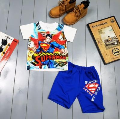 BT26021941 - Bộ thun superman cho bé