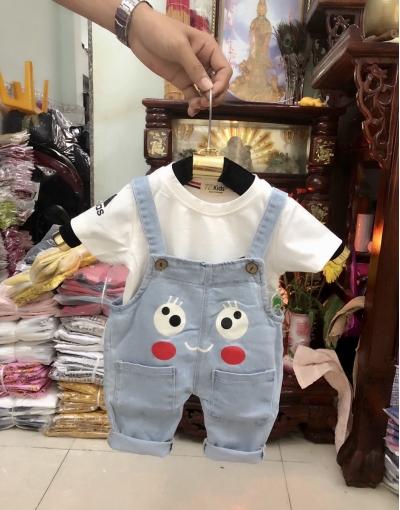YJ250701 - yếm zin nhập cho bé
