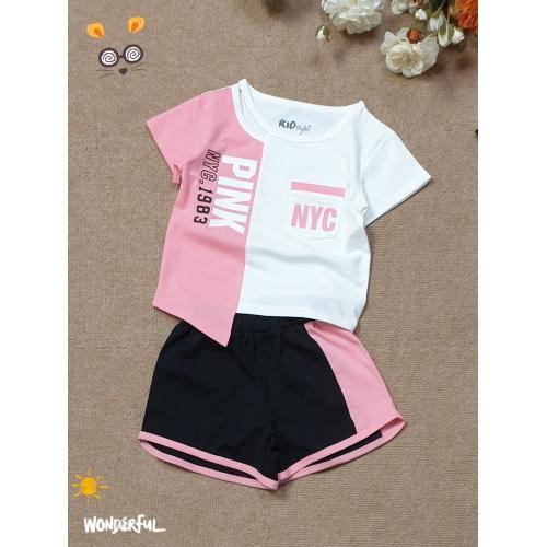 BG2270401- Bộ phối đóng túi in Pink