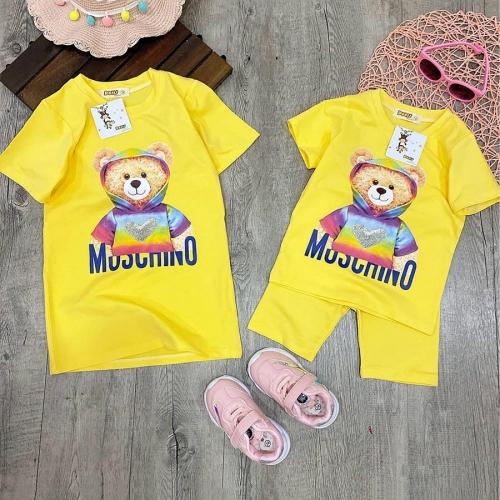 Set đầm và bộ gấu moschino-DB2200801