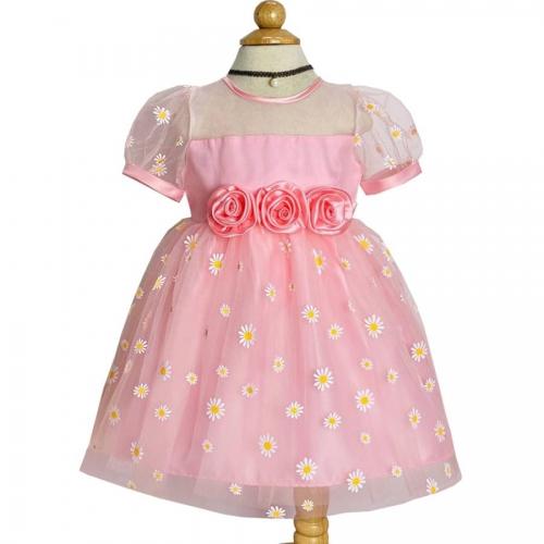 Đầm công chúa bông cúc họa mi-DG2250801