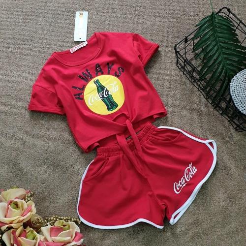 BG030501 - Bộ bé gái phong cách thể thao