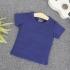 TN12 - Áo thun trơn trẻ em cổ tròn tay ngắn (Màu xanh lá)