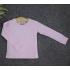 TD10 - Áo thun trơn trẻ em cổ tròn tay dài (Màu vàng)