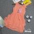DG1210219 - Đầm Xích Móc eo, bèo hông.