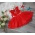 Đầm công chúa viền cổ, thêu hoa 1-8