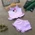 BG140601 - Bộ bé gái áo croptop 2 dây