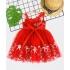 DG210601 - Đầm ren công chúa lệch vai