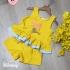 BG110302 - Bộ Short Tơ sọc bèo