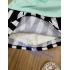 BG130903-set chân váy sọc dễ thương
