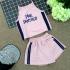 BG090501 - Bộ bé gái áo croptop cổ yếm